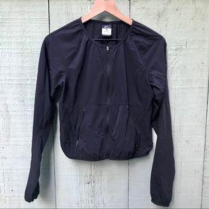 Nike black cropped jacket